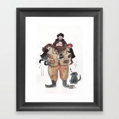 Hagrid, Hagrid, Hagrid!  Framed Art Print