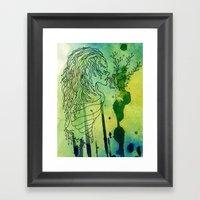 Spoiled Serpents Framed Art Print
