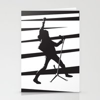 Legendary Punk Frontman Stationery Cards