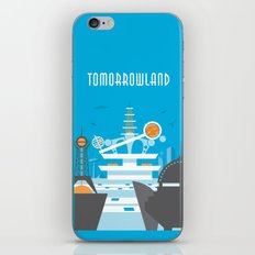 Tomorrowland Travel Poster iPhone & iPod Skin
