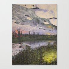 reversible landscape Canvas Print