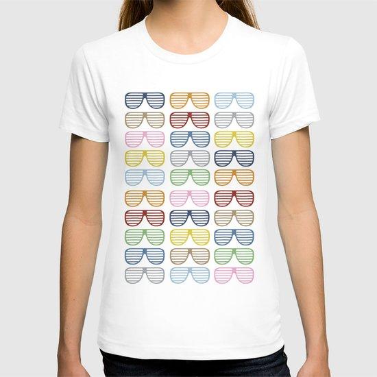 Rainbow Shutter Shades T-shirt