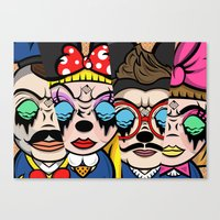 The Mickey Mouse Club Canvas Print