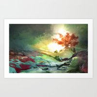 Weirwood Art Print