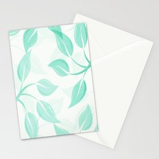 Mint and Frosty Stationery Cards