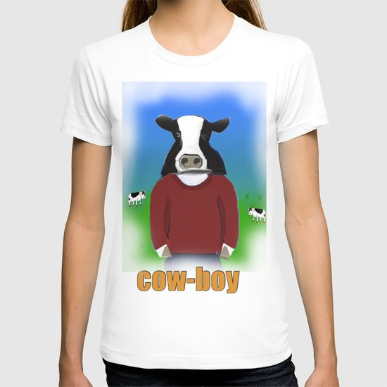 Cow-boy T-shirt