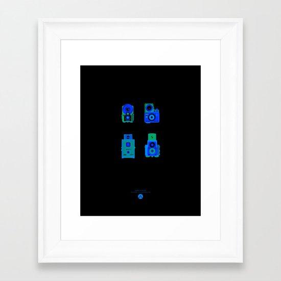 Lights, Camera, Action! Framed Art Print