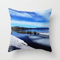 Tahoe City Throw Pillow