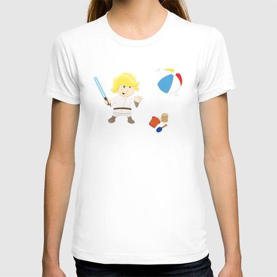 SW Kids - Luke at the Beach T-shirt