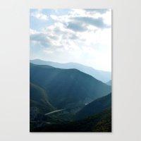 Distant Highway Canvas Print
