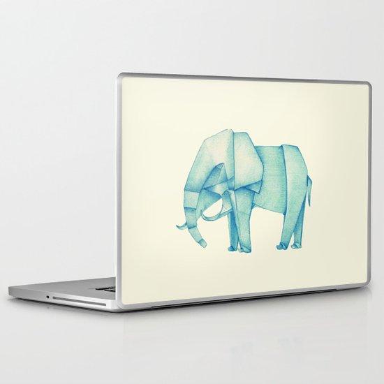 Paper Elephant Laptop & iPad Skin
