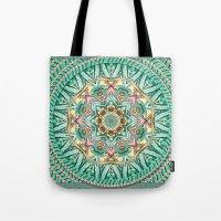 Sea Angel Kaleidoscope Tote Bag