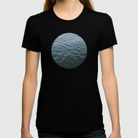 Planetary Bodies - Water Womens Fitted Tee Black SMALL
