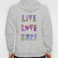 Live Love Surf - II Hoody