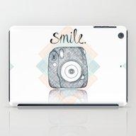 Just Smile iPad Case