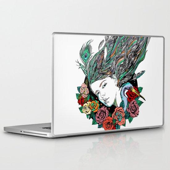 Feather Dream Laptop & iPad Skin