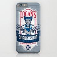 Logan's Barbershop iPhone 6 Slim Case