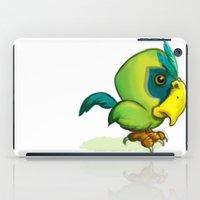 Green Parrot iPad Case