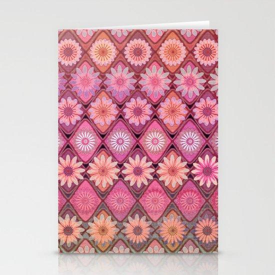 Daisy Pinks Stationery Card
