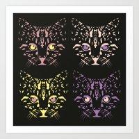 CAT FANTASY Art Print