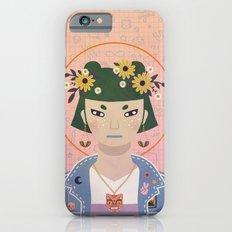Doodles Portrait iPhone 6 Slim Case