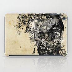 skull crystallisation iPad Case
