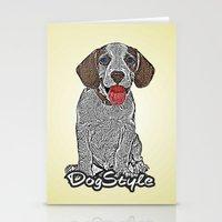 Dog Style Stationery Cards