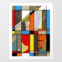Fabtastic Four Art Print
