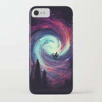 bike iPhone & iPod Cases featuring Adventure Awaits by nicebleed