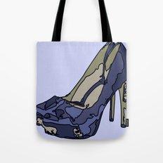 Blue sweet shoe -or....? Tote Bag