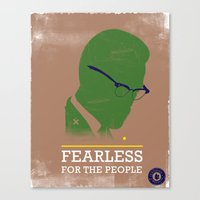 FEARLESS: For The People Canvas Print
