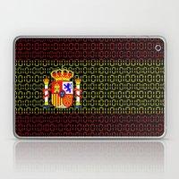 Digital Flag (spain) Laptop & iPad Skin