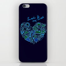 Heartfilled iPhone & iPod Skin