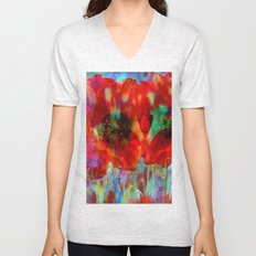 Simple as flowers Unisex V-Neck