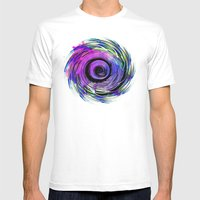 MAGADHA Mens Fitted Tee White SMALL