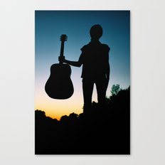 Music is my Soul Canvas Print