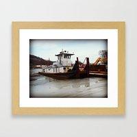 Tugboat Framed Art Print