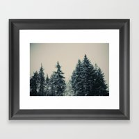Winter Fancy Framed Art Print