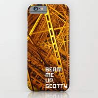 Beam Me Up iPhone 6 Slim Case