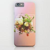 Cubic Bouquet iPhone 6 Slim Case