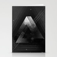 triangle Stationery Cards featuring Triangle by Guilherme Rosa // Velvia
