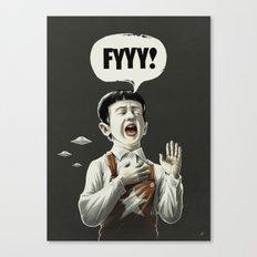 TESTI.FYYY! Canvas Print