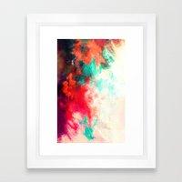 Painted Clouds VIII Framed Art Print