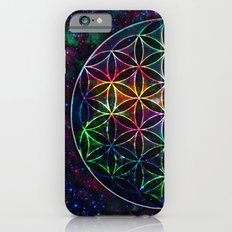 Flower of Life in the Universe - Universe in the Flower of Life Slim Case iPhone 6s
