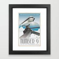 Framed Art Print featuring Grim Fandango Vintage Tr… by David MacKenzie