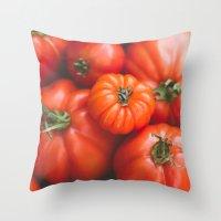 I Say Tomato Throw Pillow