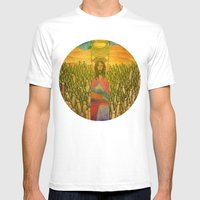 Jesus Mens Fitted Tee White SMALL