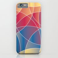 iPhone & iPod Case featuring Sunset Curves by rollerpimp