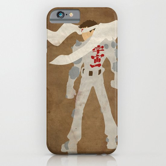 """""""Will pilot giant robot for money."""" (Jin Saotome) iPhone & iPod Case"""