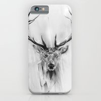 iPhone Cases featuring Red Deer by Alexis Marcou
